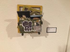 Art work from Cohort Collective exhibit